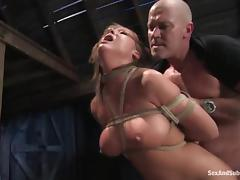 Some chicks love object bondaged and pounded relative to their twats