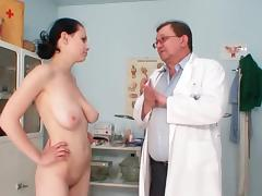 Beauty, Beauty, Big Tits, Brunette, Doctor, Fingering