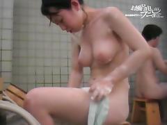 Asian nipples sticking so hard on the shower voyeur cam vid dvd 03198