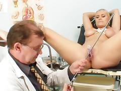 Doctor, Blonde, Doctor, Enema, Gyno, Hospital