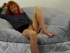 All, Aged, Masturbation, Mature, Old, Redhead