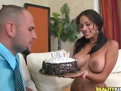 Food, Big Tits, Boobs, Couple, Food, Pussy