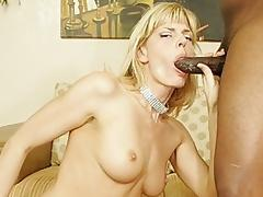 Black Mature, Black, Blonde, Blowjob, Boobs, Couple