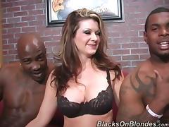 Bra, Big Cock, Big Tits, Black, Blowjob, Bra