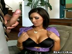 All, Big Tits, Bra, Couple, Reality, Sofa