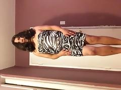 Me trying on dress 3