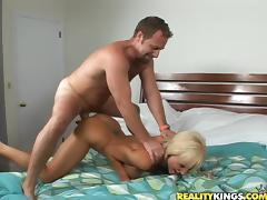 Tasty Madison Gets Drilled Doggystyle In A Reality Video