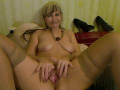 Labia, Amateur, Blonde, Mature, Old, Pussy