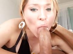 Beauty, Beauty, Blonde, Blowjob, Cum in Mouth, Penis