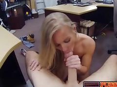 Anorexic, Blonde, Boobs, Couple, POV, Skinny