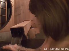 Kirara Asuka hot Asian milf in a kimono gets facial