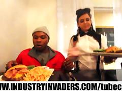 Industry Invaders- Camren Soprano Reality Interracial Hardcore