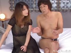 Japanese, Asian, Blowjob, Couple, Cowgirl, Cumshot