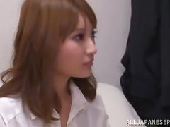 Hot Asian milf with big boobs enjoys a fuck