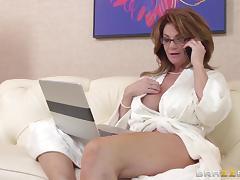 Cougar, Big Tits, Blowjob, Boobs, Cougar, Couple
