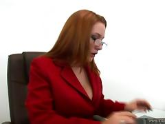 Office, Big Tits, Blowjob, Couple, Curvy, Doggystyle