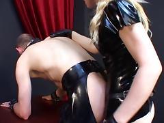 Latex, BDSM, Femdom, German, Latex, Mistress