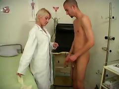Doctor, Blowjob, Close Up, Couple, Doctor, Doggystyle
