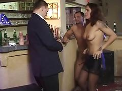 Bar, Bar, Brunette, Fisting, Piercing
