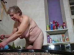 Bath, Bath, Bathing, Bathroom, Granny, Mature