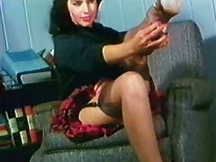 DON'T BE CRUEL - vintage stockings striptease music video