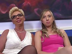 Interview with blond porn stars Sofie Carter and Taylor Lynn