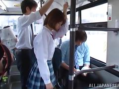 Bus, Asian, Bus, Drilled, Japanese, Public