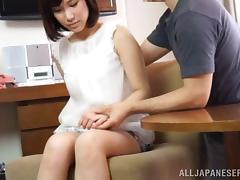 Japanese, Asian, Blowjob, Boobs, Bra, Couple