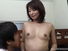 Asian Mature, Asian, Couple, Japanese, Lick, Mature