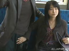 Japanese, Babe, Bus, Handjob, Hidden, Japanese