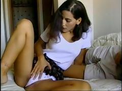 Brunette, Brunette, Couple, Hardcore, Panties