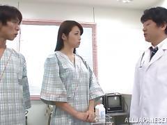 Japanese, Asian, Bra, Doctor, Exam, Hairy