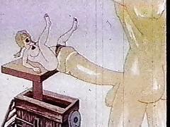 Cartoon, Blonde, Cartoon, HD, Vintage